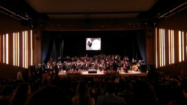 Orquestra Sinfônica de Campinas se prepara para o concerto no palco do Municipal