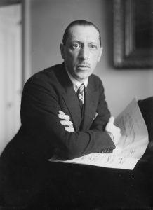 Stravinsky na década de 1920 (Wikimedia Commons)