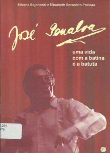 Capa do livro sobre o compositor (exemplar da Biblioteca da FAP)
