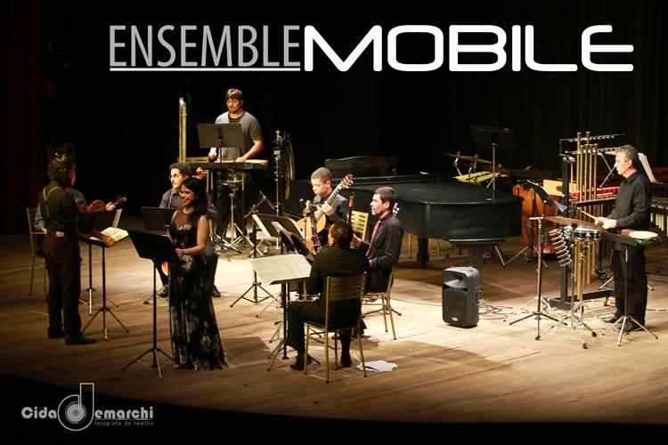 Ensamble Móbile em concerto - foto de Cida Demarchi (divulgação/site do grupo)