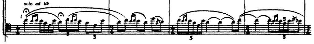 solo inicial do fagote
